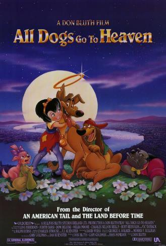 Tous les chiens vont au paradis|All Dogs Go To Heaven Poster