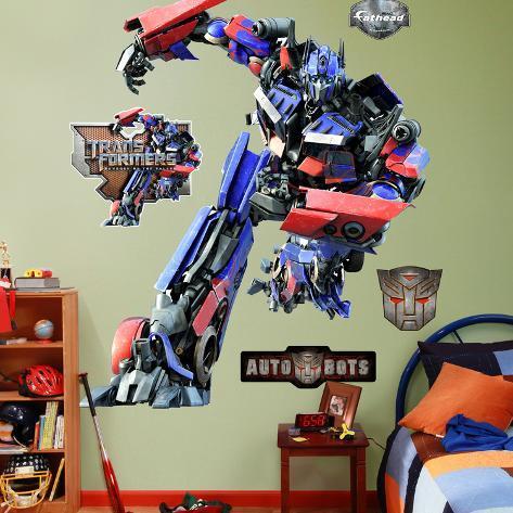 Transformers: Optimus Prime  Autocollant mural