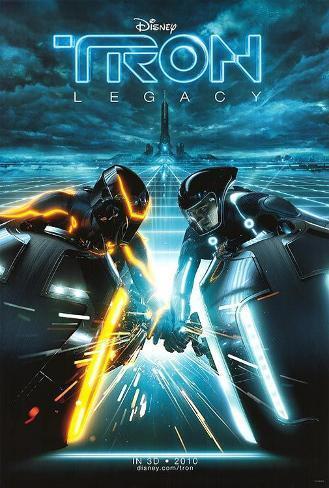Tron Legacy Affiche double face
