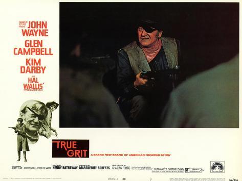 True Grit, 1969 Reproduction d'art