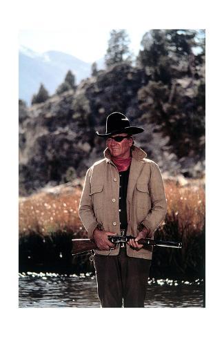 True Grit, John Wayne, 1969 Reproduction procédé giclée