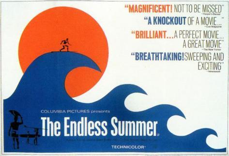 Un été sans fin, à la recherche de la vague parfaite - Surf Affiche originale