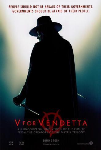 V pour Vendetta Poster