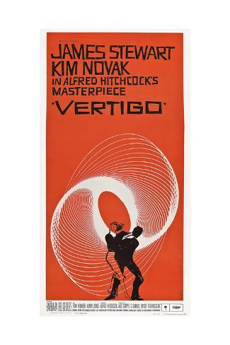 Vertigo, 1958 Reproduction procédé giclée