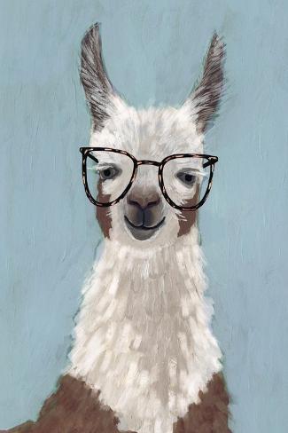Llama Specs I Reproduction giclée Premium