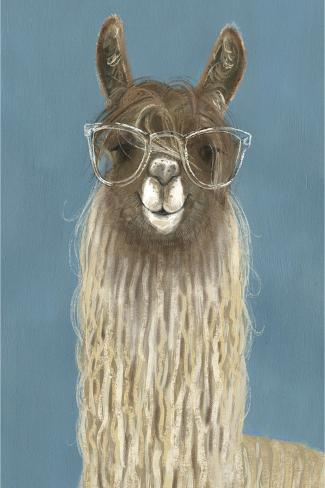 Llama Specs IV Reproduction giclée Premium