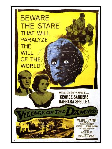 Village of the Damned, George Sanders, Barbara Shelley, 1960 Photographie