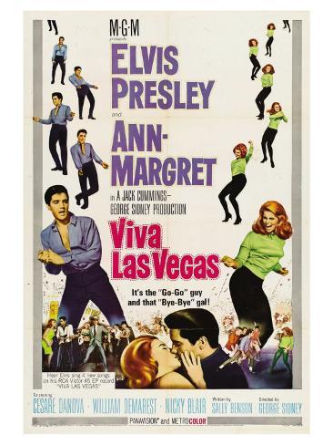 Viva Las Vegas, 1964 Reproduction d'art