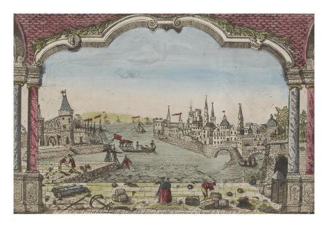 Vue du Port de la ville de Lamekk dans l'Arabie heureuse à cinq lieues de la Mer Rouge Autre