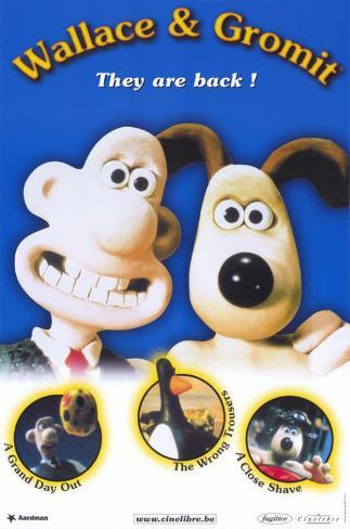 Wallace & Gromit: The Best of Aardman Animation Affiche originale