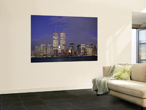 Manhattan, New York City, NY, USA Poster géant