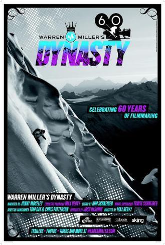 Warren Miller's Dynasty Poster