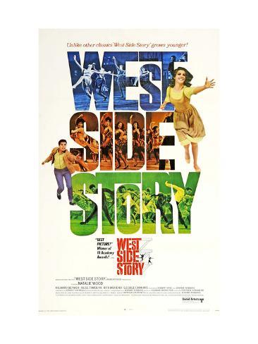 West Side Story, 1961 Reproduction d'art