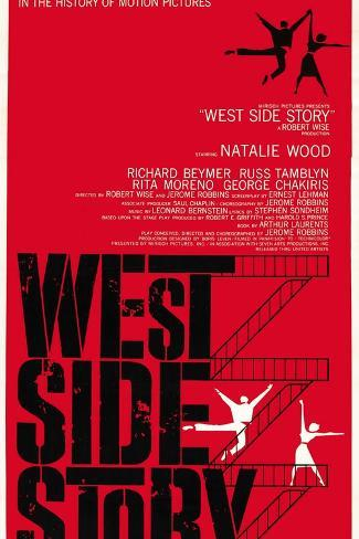 West Side Story Reproduction d'art