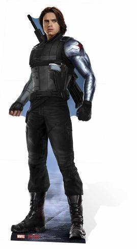 Winter Soldier - Marvel Civil War Silhouettes découpées en carton