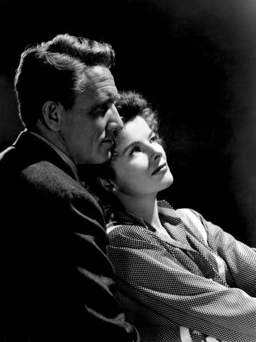 Without Love, Spencer Tracy, Katharine Hepburn, 1945 Photographie