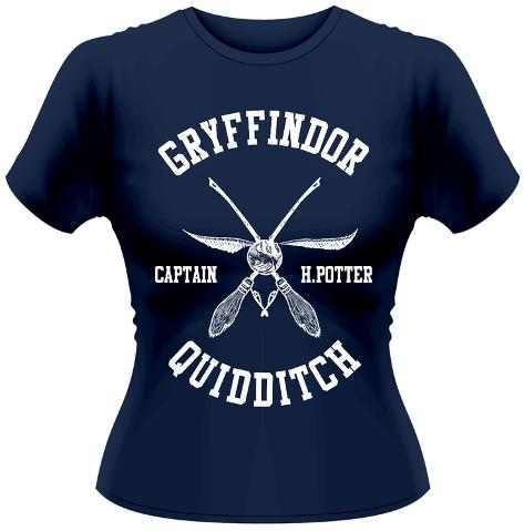 Women's: Harry Potter- Quidditch Captain T-shirts femme