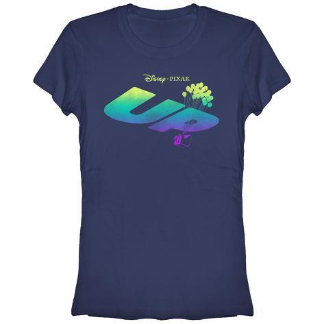 Women's: Pixar: Up- Rising Logo T-shirts femme