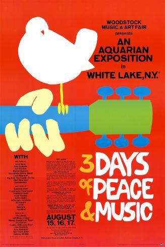 Woodstock - Festival de musique Poster