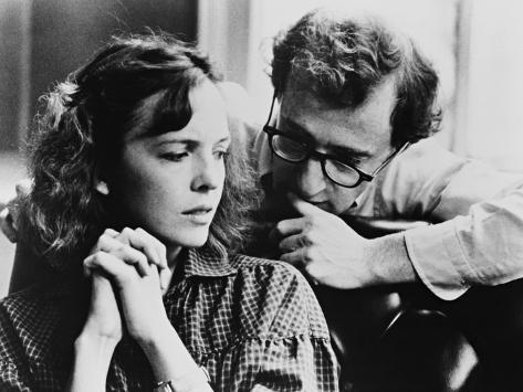 Woody Allen, Diane Keaton, Interiors, 1978 Reproduction photographique