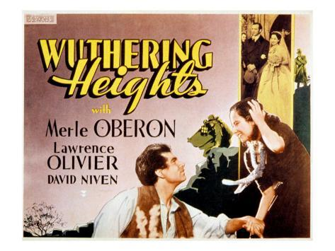 Wuthering Heights, Laurence Olivier, Merle Oberon, 1939 Photographie