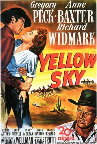 Yellow Sky Affiche originale