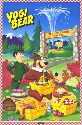 Yogi Bear Affiche originale