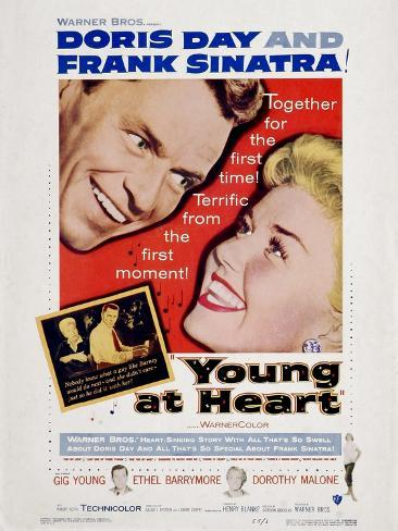 Young at Heart, 1954 Reproduction d'art