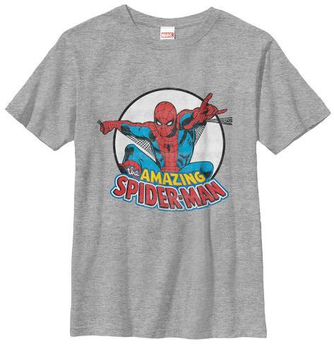 Youth: Spiderman- Amaizing Flying Spider T-shirt enfant
