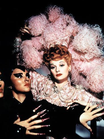 Ziegfeld Follies, Lucille Ball, 1946 Photographie