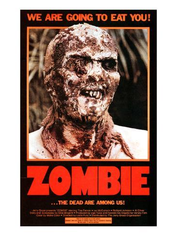 Zombie, 1980 Photographie