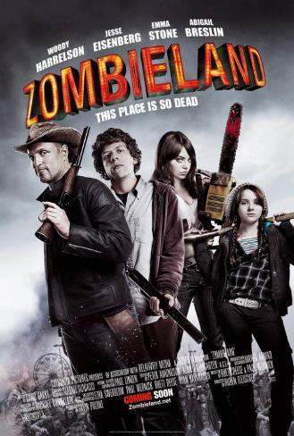 Zombieland - UK Style Poster