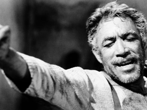 Zorba the Greek, Anthony Quinn, 1964 Photographie