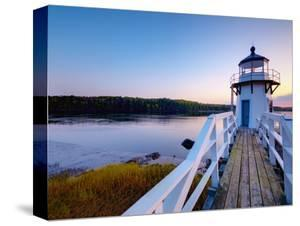 Doubling Point Light, Maine, New England, United States of America, North America by Alan Copson