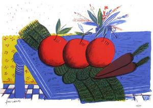 Nature Morte Aux Pommes Rouges by Alexandre Fassianos