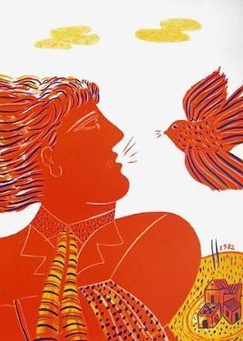 Profil À L'Oiseau by Alexandre Fassianos
