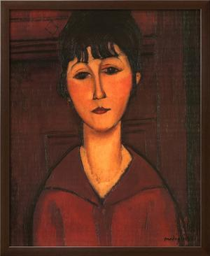 Portrait of Young Woman, c.1916 by Amedeo Modigliani