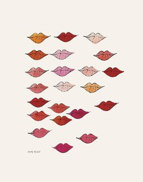 Stamped Lips, c. 1959 by Andy Warhol