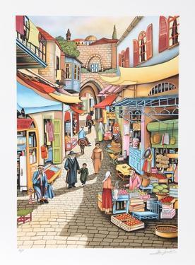 Old Jerusalem Market by Ari Gradus