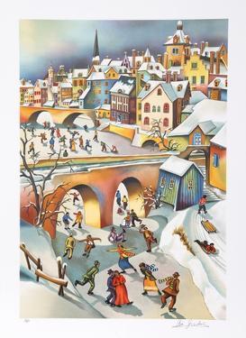 Winter's Play by Ari Gradus