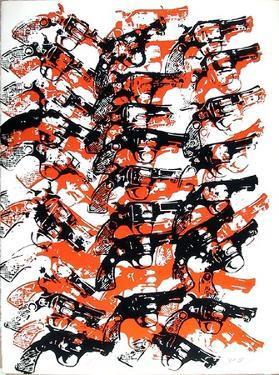 Bloody Guns by Arman