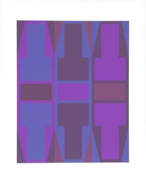 T Series (Purple) by Arthur Boden