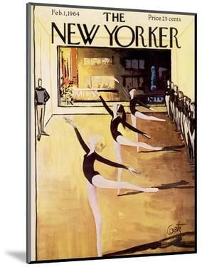 The New Yorker Cover - February 1, 1964 by Arthur Getz