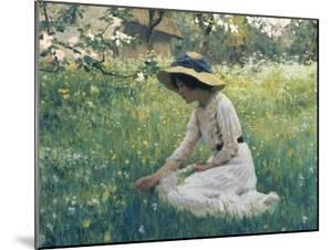 Spring Flowers by Arthur Hacker