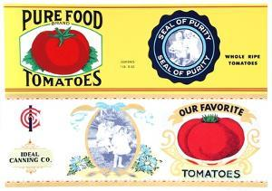 Pure Food Tomatoes by Barbara Cesery