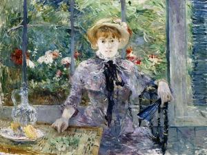 After Breakfast (Apres le Dejeuner). 1881 by Berthe Morisot