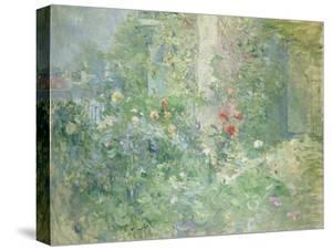 Garten in Bougival, 1884 by Berthe Morisot