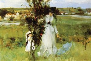 Hide and Seek by Berthe Morisot