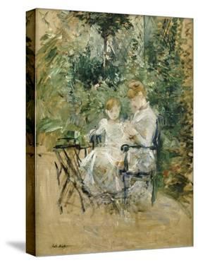 In the Garden; Dans Le Jardin, C.1885 by Berthe Morisot