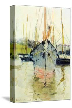 Midina at the Entrance to the Isle of Wight by Berthe Morisot